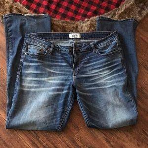 BKE Daytrip Size 34L women's Jeans